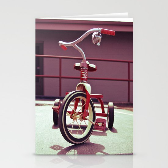 Tricycle Americana Stationery Card