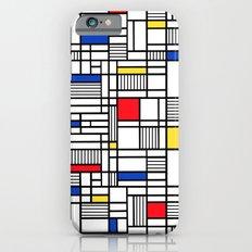 Map Lines Mond Slim Case iPhone 6s