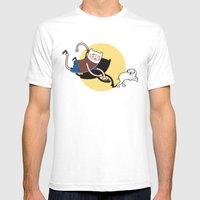 Adventure Tin Mens Fitted Tee White SMALL