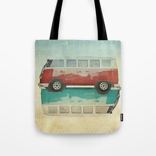 VW Kombi Ying and Yang Tote Bag