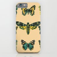 iPhone Cases featuring Butterflies and Moth of Europe by Rendra Sy