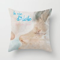 La vie d'Adele, movie poster - chapter two - alternative playbill Throw Pillow