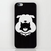 Cartoon Food Chain iPhone & iPod Skin