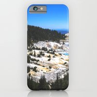 Bumpass Hell Pass Lassen Volcanic National Park iPhone 6 Slim Case