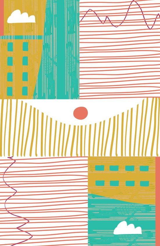 Eye On The City Canvas Print