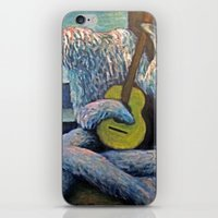 The Furry Guitarist iPhone & iPod Skin