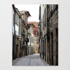 Oporto Back Streets Canvas Print