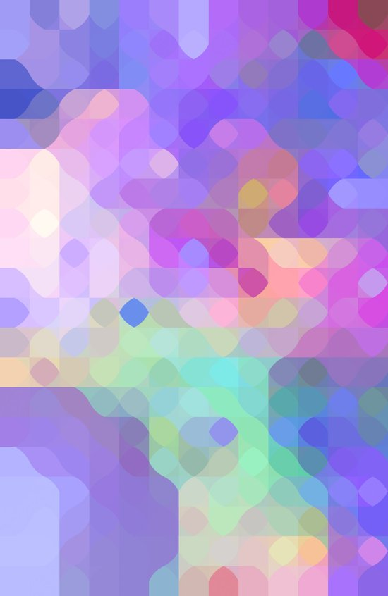 colorful+pop Art Print