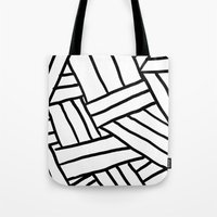 Raw Pattern Series: N.1 Tote Bag