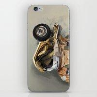 Motor head iPhone & iPod Skin
