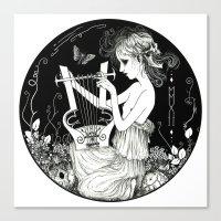 Torva Sonus - Grim Sound Canvas Print