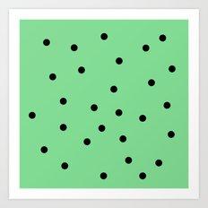 Mint Chip Art Print