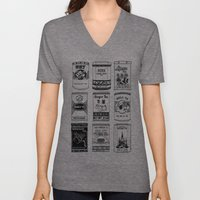 chinese teabox collection Unisex V-Neck