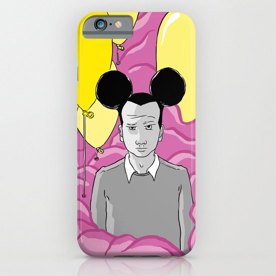 On a Pink Cloud iPhone & iPod Case