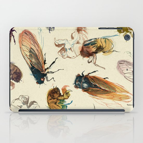 summer cicadas iPad Case