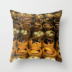 turkish sweets Throw Pillow