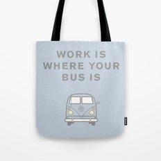VW Bus love Tote Bag
