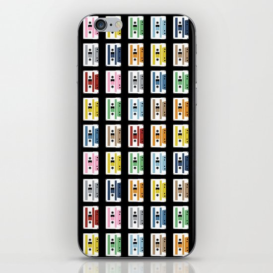 70 Rainbow Tapes iPhone & iPod Skin