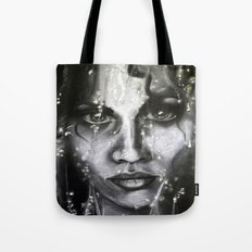 Lead me from the darkness Tote Bag