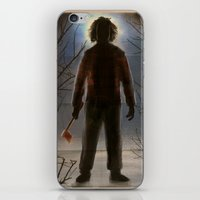 The Flannel Shirt Massac… iPhone & iPod Skin
