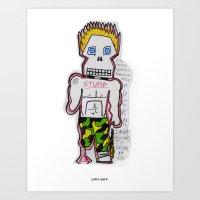 Spike Steve Art Print