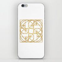 Golden Ropes iPhone & iPod Skin