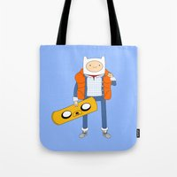 Marty McFinn & Jake The … Tote Bag