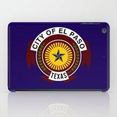 el paso city flag iPad Case