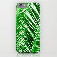 Tropical Palm Green iPhone 6 Slim Case