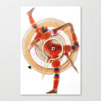 Pivot   Collage Canvas Print