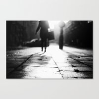 Light Shopping Canvas Print