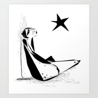 Not all about your lucky star Art Print