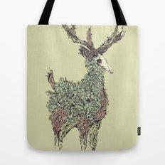 Beautiful Deer Old Tote Bag