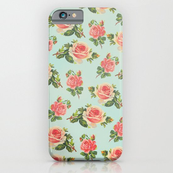 LONGING FOR SPRING- FLORAL PATTERN iPhone & iPod Case