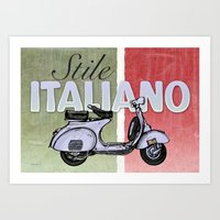 Stile Italiano Art Print