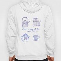 Decorative teapots Hoody