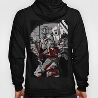 Zombie Rush (Gray Tone Version) Hoody