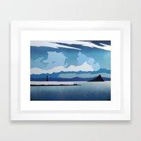 Mounts Bay Framed Art Print