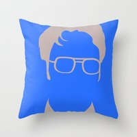 Dwight Schrute Throw Pillow