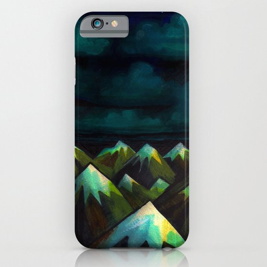 Night Mountains.  iPhone & iPod Case