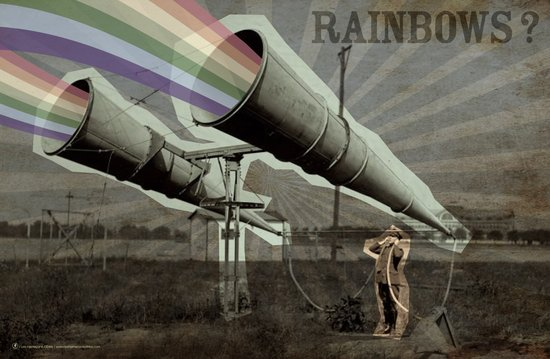 Rainbows ? Art Print