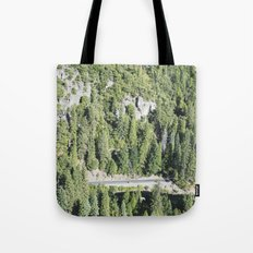 nature meets highway Tote Bag
