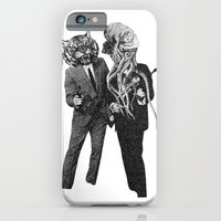 iPhone & iPod Case featuring The Made Us Detectives (1979) Monochrome by Morgan Jesse Lappin