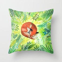 Throw Pillow - Nature's Heart - Sandra Dieckmann