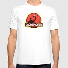 Good Dinosaur Mens Fitted Tee White SMALL