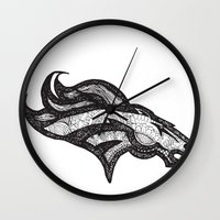 Bronco Wall Clock