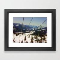 From the Lift Framed Art Print