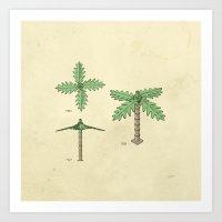 Lego Tree Art Print