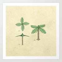 Lego Tree Art Print