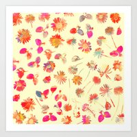 Flowering #11 Art Print